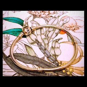 Pandora Snake Chain Bracelet - Silver